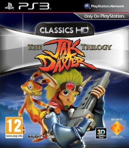 The Jak and Daxter The Trilogy PS3