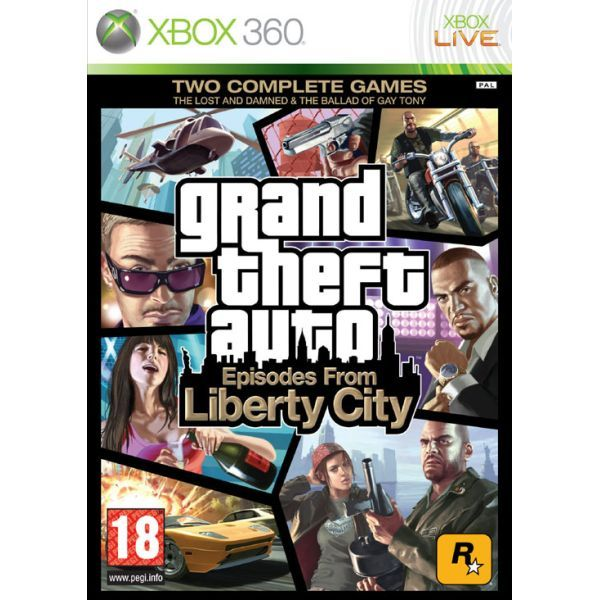 GTA Episodes from Liberty City - Grand Theft Auto Xbox 360