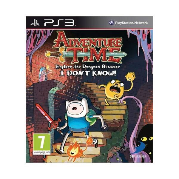 Adventure Time Explore the Dungeon Because I Don´t Know PS3