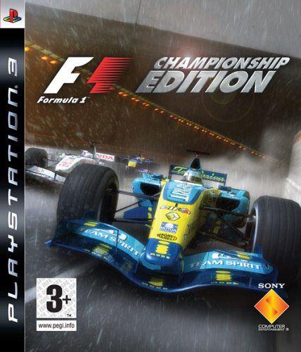 F1 Formula One Championship Edition PS3