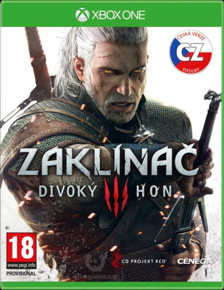 Zaklínač 3 Divoký hon CZ Xbox One