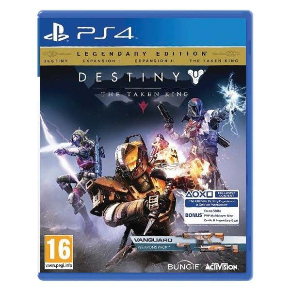 Destiny The Taken King Legendary Edition PS4