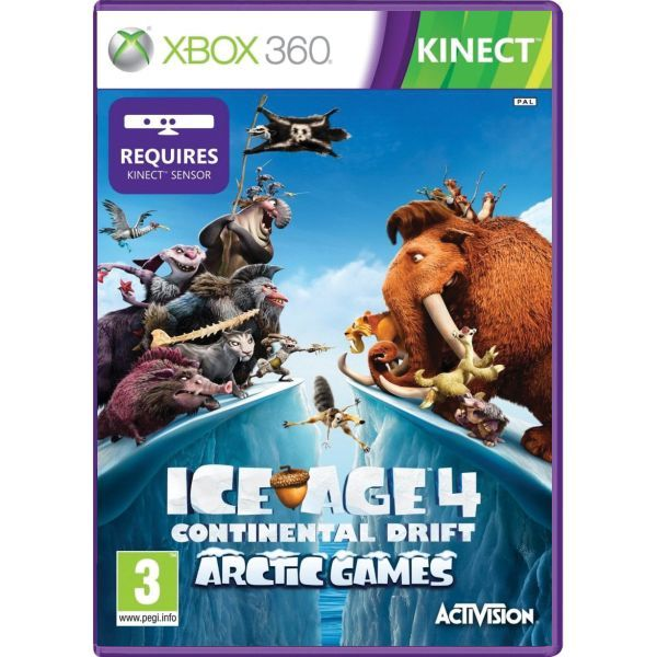 Ice Age 4 Continental Drift Arctic Games / Doba Ledová Xbox 360