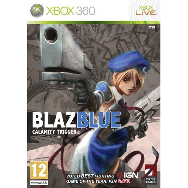 BlazBlue Calamity Trigger Xbox 360