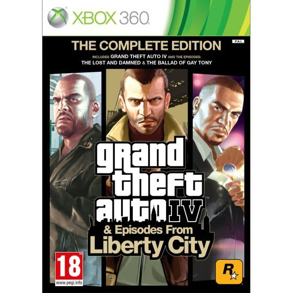 GTA 4 - Grand Theft Auto IV Episodes from Liberty City Xbox 360