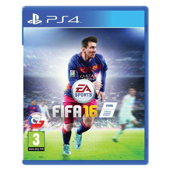 FIFA 16 CZ PS4