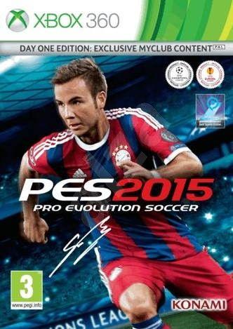 PES 2015 Pro Evolution Soccer Xbox 360