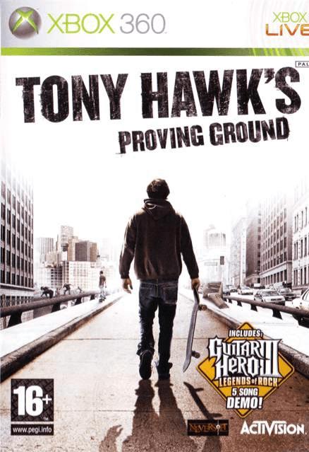 Tony Hawks Proving Ground Xbox 360