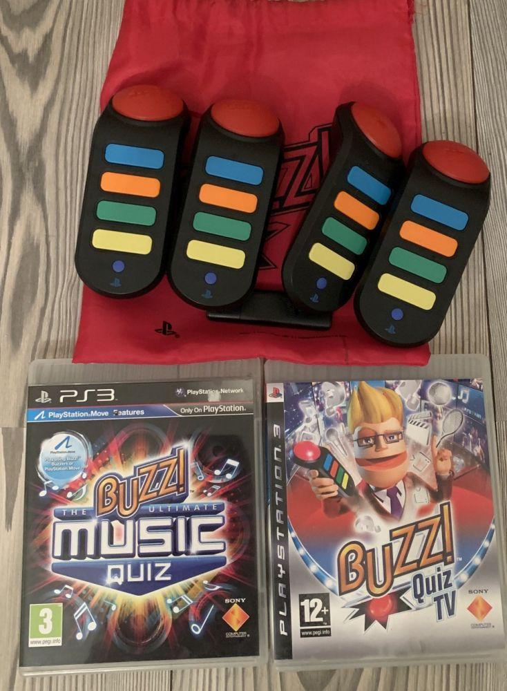 Buzz! Bezdratove pro PS3 + 2 hry PS3