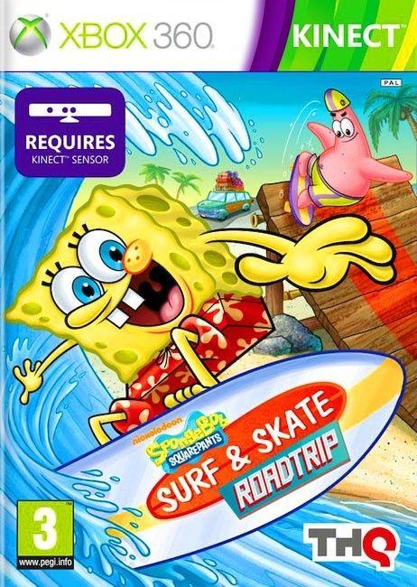 SpongeBob Surf & Skate Roadtrip Xbox 360