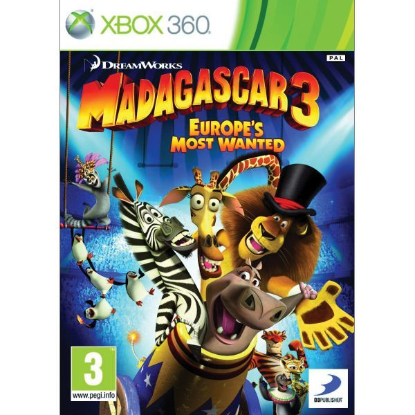 Madagascar 3 Europes Most Wanted Xbox 360