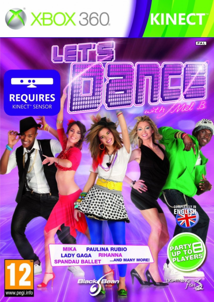 Lets Dance with Mel B Xbox 360