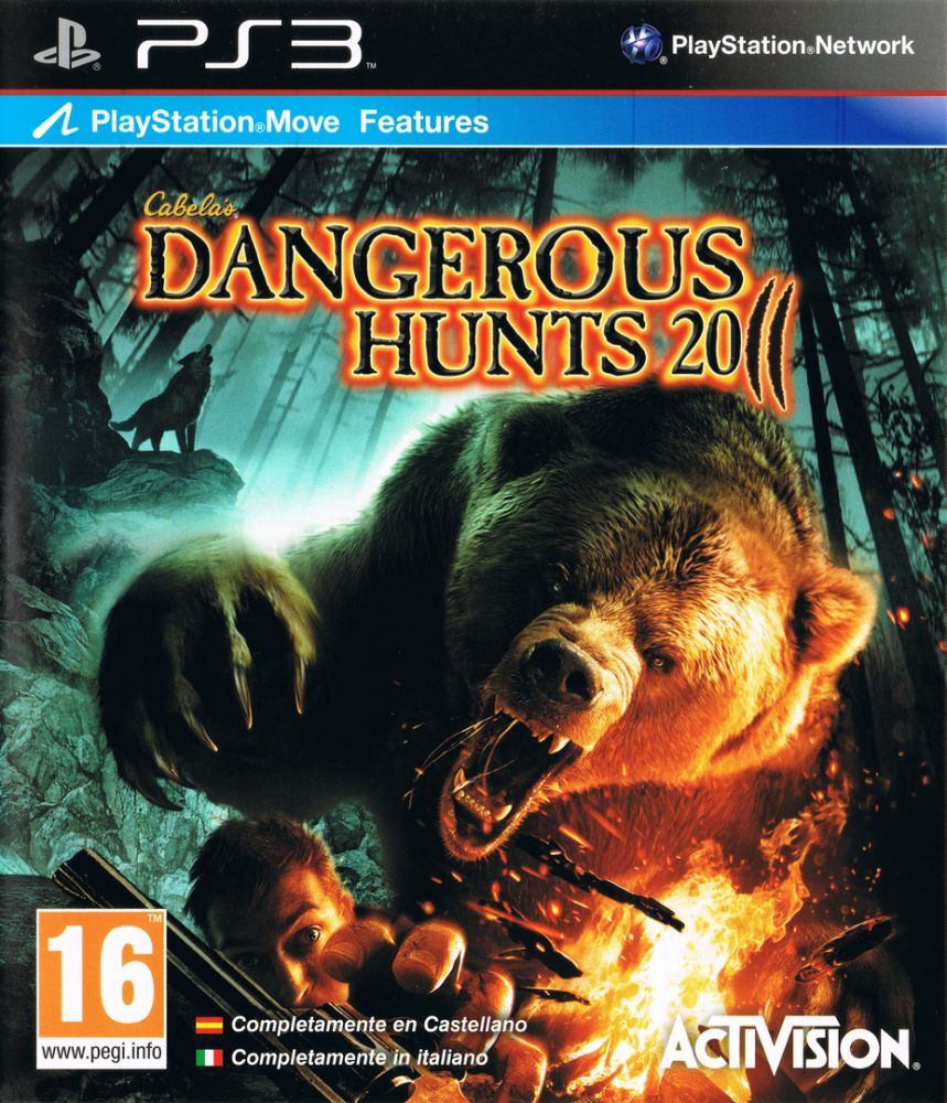 Cabelas Dangerous Hunts 2011 PS3