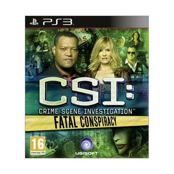 CSI Crime Scene Investigation Fatal Conspiracy PS3