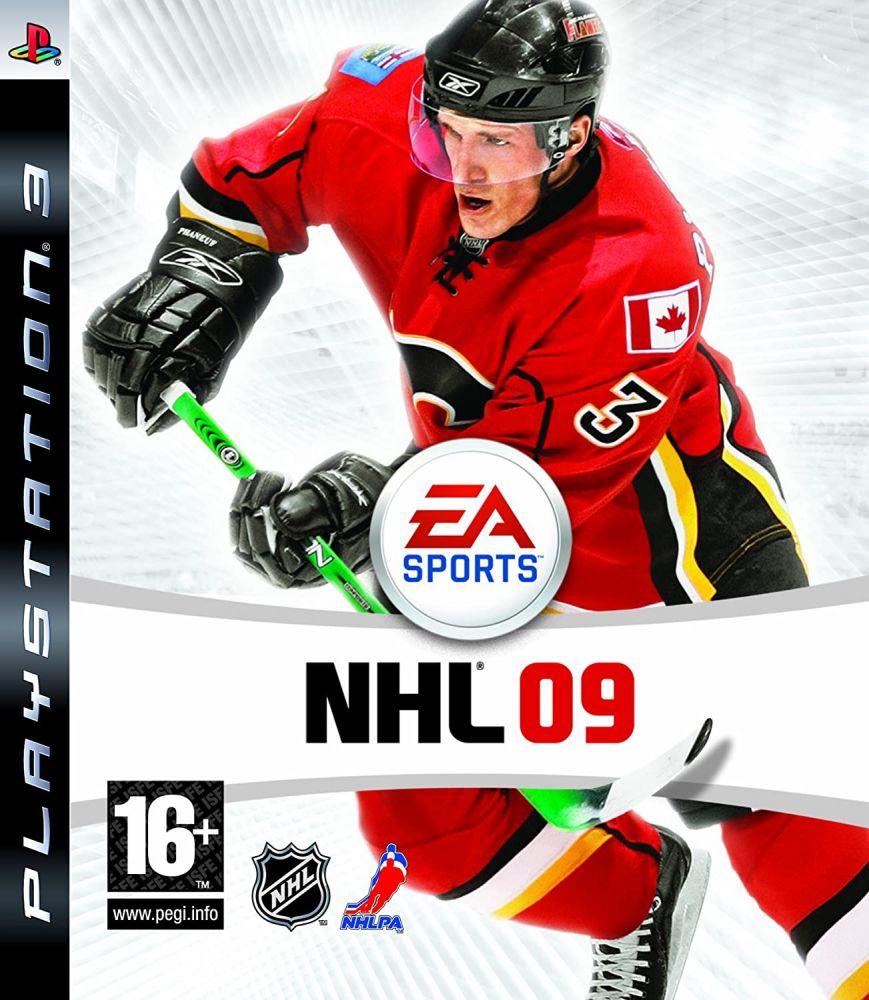 NHL 09 CZ PS3