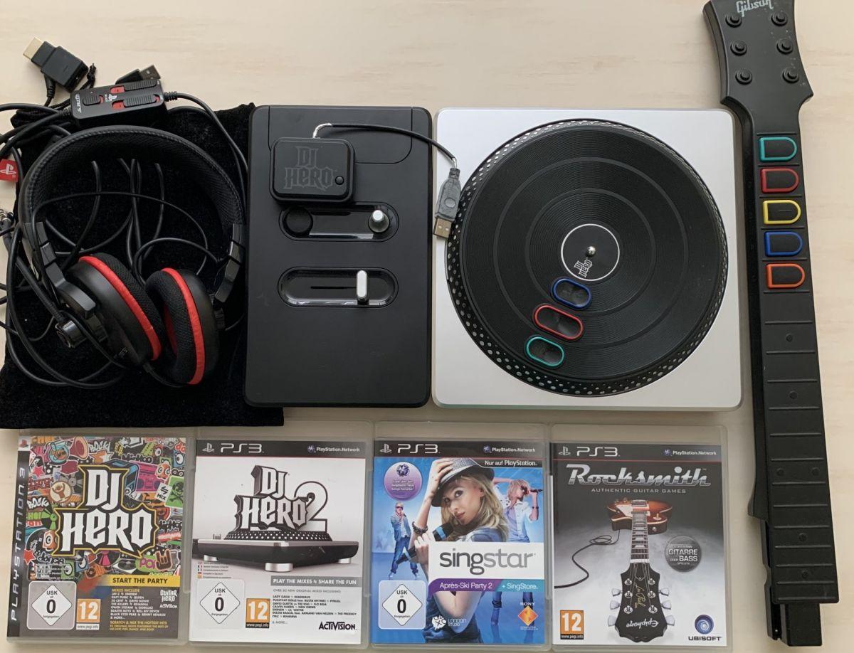 DJ Hero mixážní pult PS3