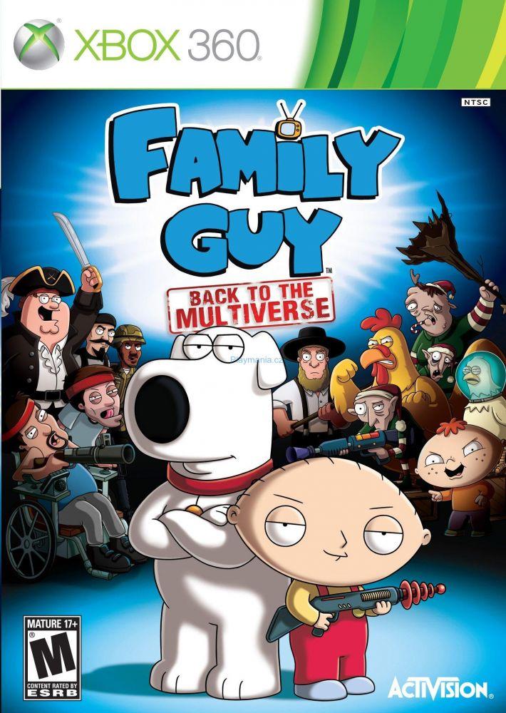 Griffinovi / Family Guy Back to the Multiverse Xbox 360