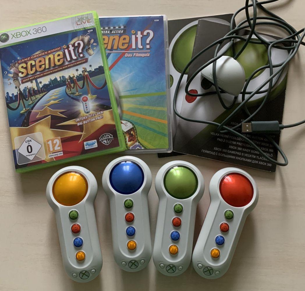 SCENE IT OVLADAČE a hra NJ Xbox 360