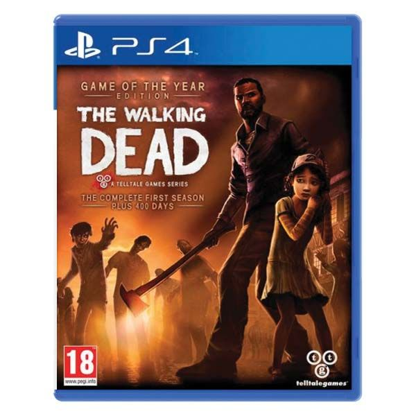 The Walking Dead The Complete First Season PS4