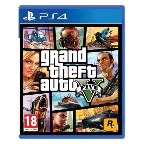 GTA 5 - Grand Theft Auto V PS4