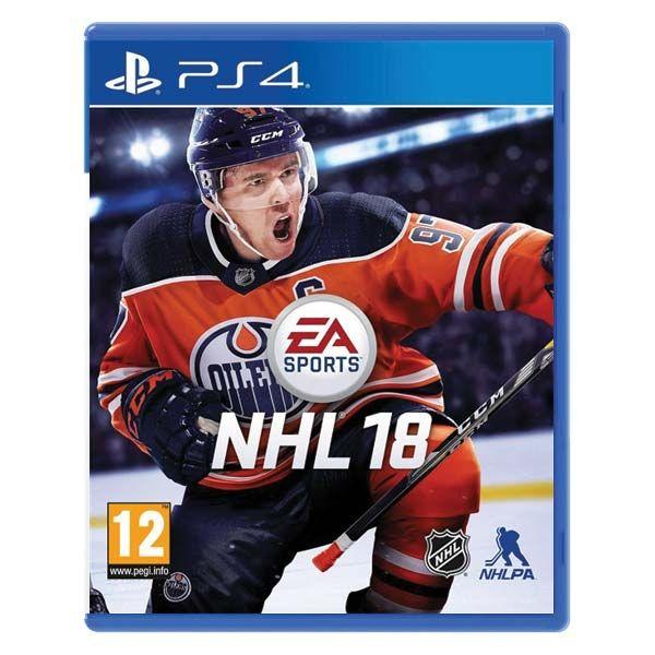 NHL 18 CZ PS4