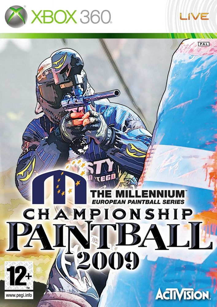 Millennium Championship Paintball 2009 Xbox 360