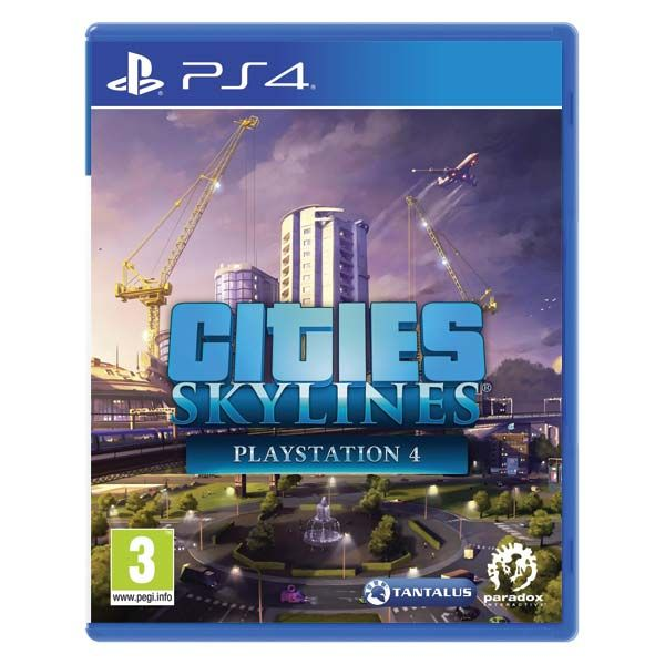 Cities Skylines PlayStation 4 PS4