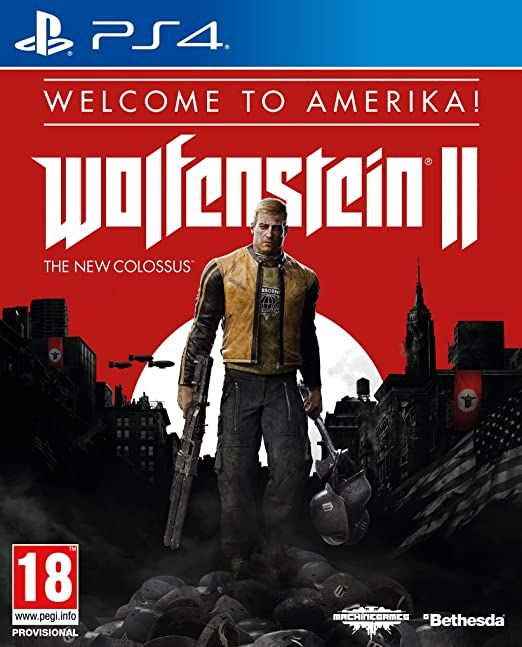 Wolfenstein 2 The New Colossus Welcome To America PS4
