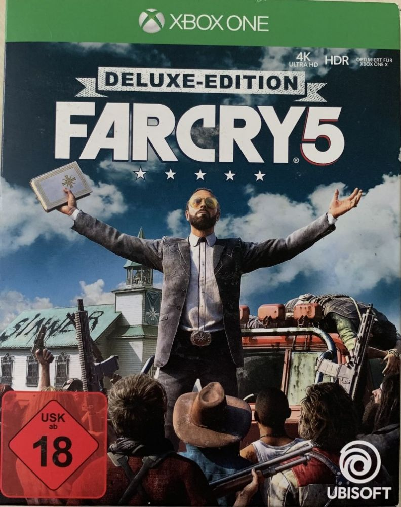 Far Cry 5 Deluxe Edition Xbox One