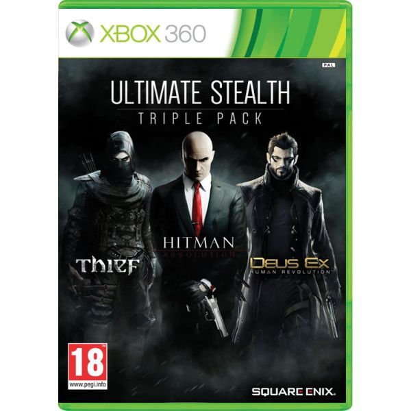 Ultimate Stealth Triple Pack NJ Xbox 360