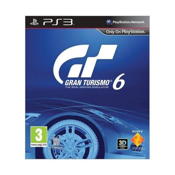 Gran Turismo 6 CZ PS3