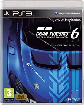Gran Turismo 6 Anniversary Edition PS3