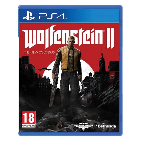 Wolfenstein 2 The New Colossus NJ PS4