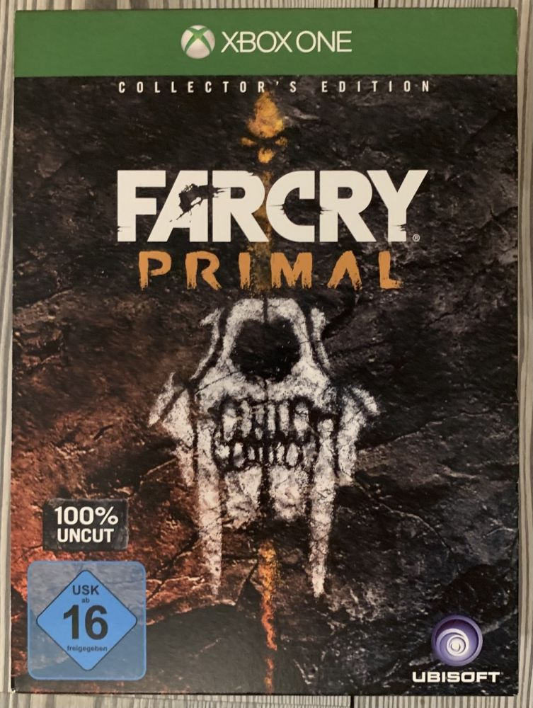 Far Cry Primal Collectors Edition Xbox One