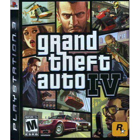GTA 4 - GRAND THEFT AUTO IV PS3