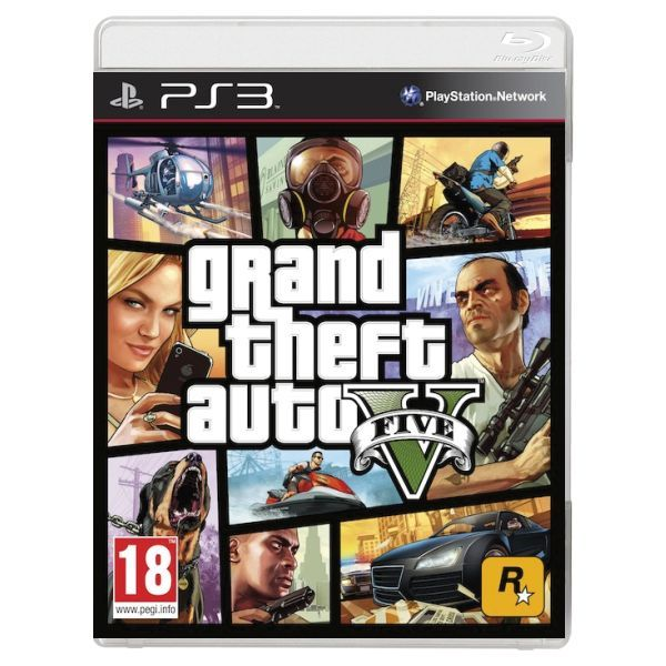 GTA 5 - GRAND THEFT AUTO V PS3