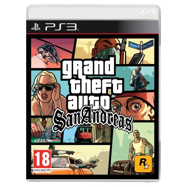 GTA San Andreas - Grand Theft Auto PS3