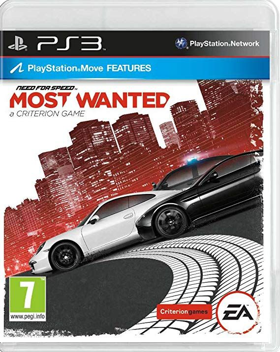 Need for Speed Most Wanted 2 PS3