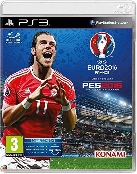 PES 2016 Pro Evolution Soccer + EURO 2016 Edition PS3