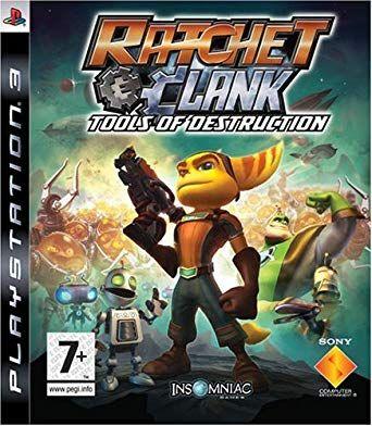 Ratchet & Clank Tools of Destruction PS3