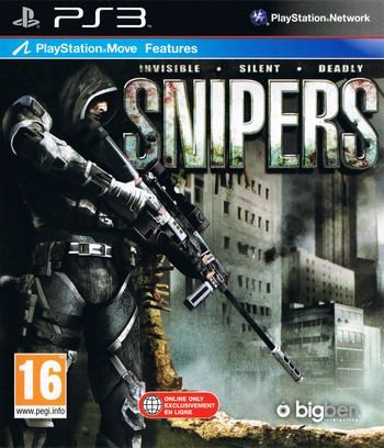 Snipers invisible silent deadly PS3