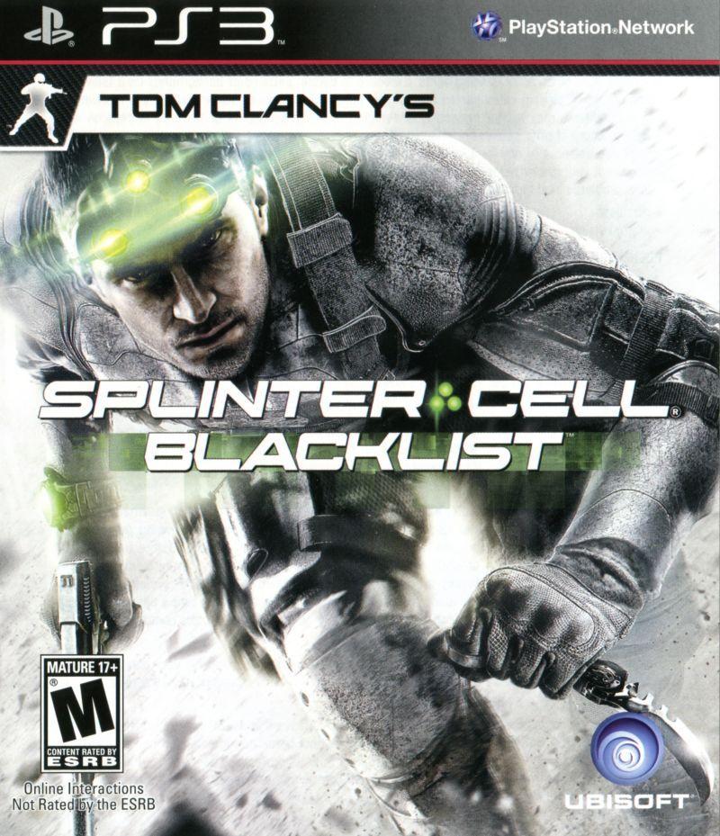 Tom Clancy's Splinter Cell Blacklist CZ PS3