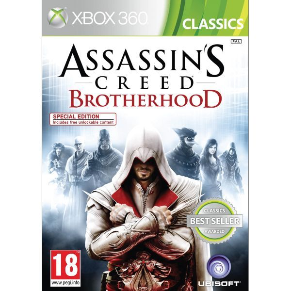 Assassins Creed Brotherhood Xbox 360