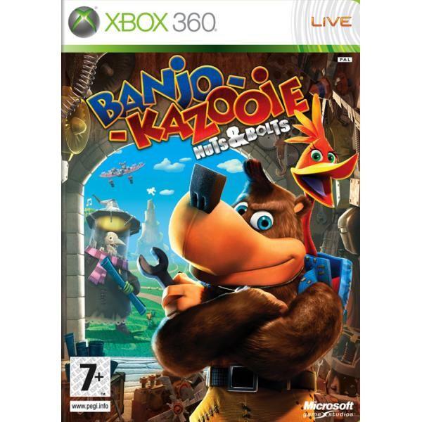 Banjo-Kazooie Nuts & Bolts CZ Xbox 360