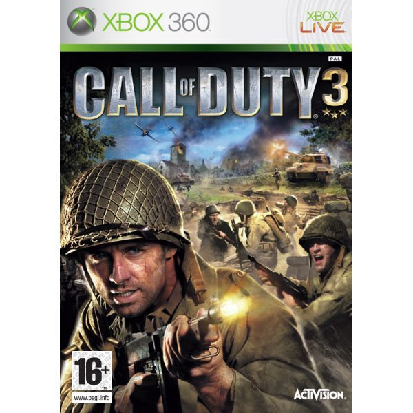 Call of Duty 3 NJ Xbox 360