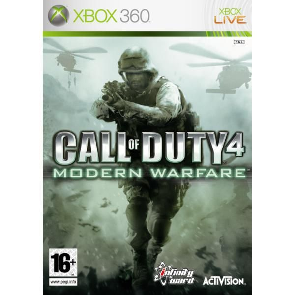 Call of Duty 4 Modern Warfare Xbox 360