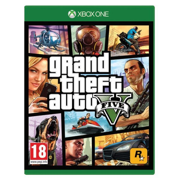 GTA 5 - Grand Theft Auto V Xbox One