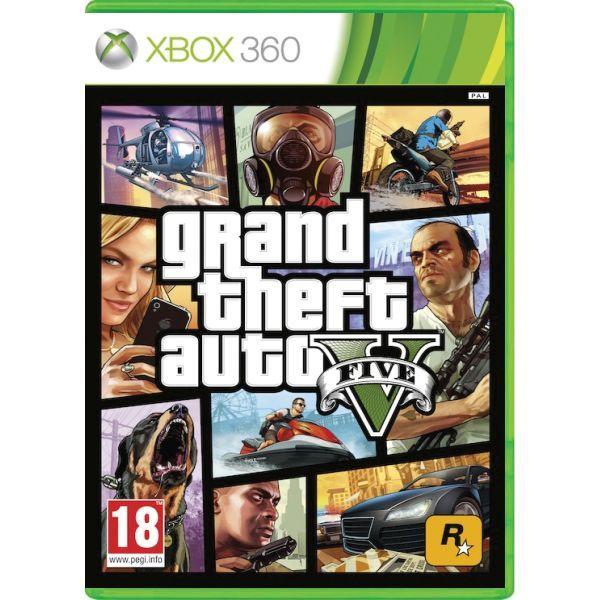 GTA 5 - Grand Theft Auto V Xbox 360