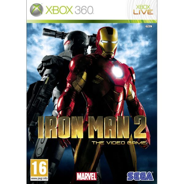 Iron Man 2 The Video Game Xbox 360