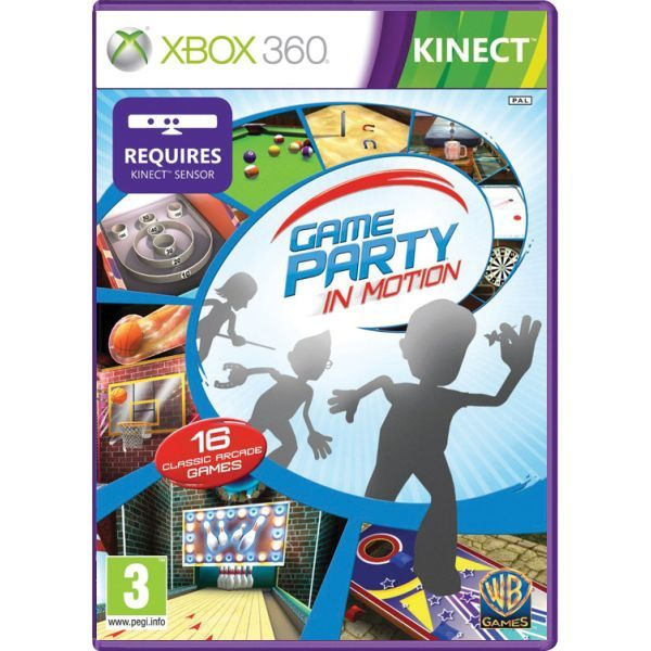 Game Party in Motion Kinect Xbox 360